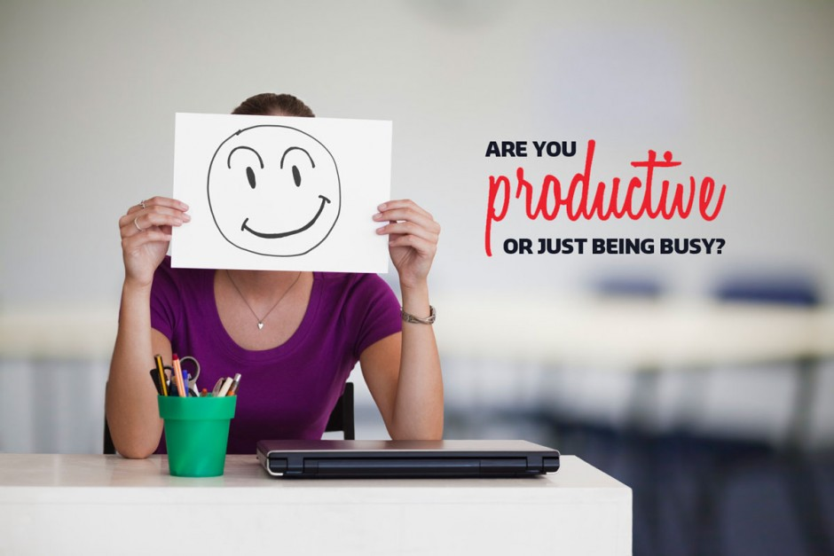 Productive-or-busy